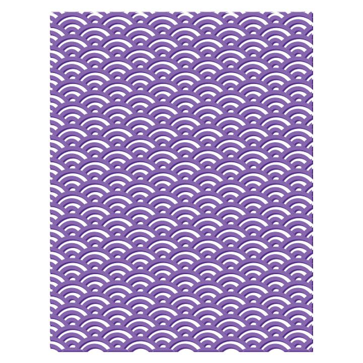 23640 Oriental Wave Embossing Folder - www.HankoDesigns.com 2017