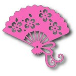 275 Oriental Fan Image Die - Tutti March 2020 Picks