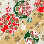 RKB2816 Golden Sakura Bubbles Washi