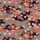 RKB2833 Autumn Floral Washi - www.HankoDesigns.com 2017 - 8.5 x 11 Bulk