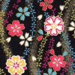 RKB2840 Midnight Sakura Tide Washi