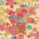 RKB2851 Golden Elegant Washi