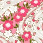 RKB2858 Pink Sakura River Washi