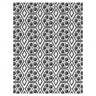 0000658933 ULT157187 Floral Honeycomb Honey Comb Embossing Folder - 2017 www.HankoDesigns.com