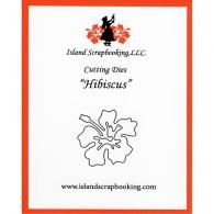 100117 Hibiscus Hawaiian Flower Die - Island Scrapbooking 2017 - www.HankoDesigns.com