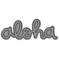 LF1431 Aloha - scripty Lawn Fawn DiesX6x6-72