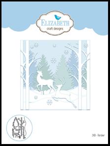 1408 Reindeer Die Elizabeth Craft 2017