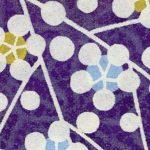 RTB11026  Washi Paper 8.5x11 - Hanko Designs 2018 Lavender Spring Blossom - www.HankoDesigns.com