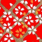RTB11074 Red Lattice Washi Paper - Hanko Designs 2018 - www.HankoDesigns.com