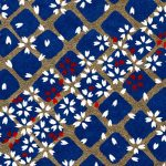 RTB11075 Blue Lattice Washi Paper - Hanko Designs 2018 - www.HankoDesigns.com