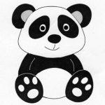 FRA10449 Ping the Panda Die - Frantic Stamper - www.HankoDesigns.com