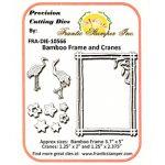FRA10566 Bamboo Frame and Cranes Die Set - Frantic Stamper - www.HankoDesigns.com