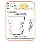 FRA10568 Large Kimono Die - Frantic Stamper - www.HankoDesigns.com