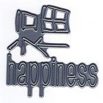 FRA10574 Happiness Kanji - Frantic Stamper - www.HankoDesigns.com