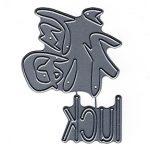 FRA10575 Luck Kanji - Frantic Stamper - www.HankoDesigns.com