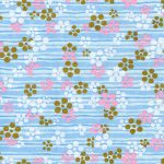 RTB10288 Blue Summer Plum Washi - www.HankoDesigns.com