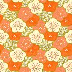 RTB10996 Orange Pillow Blossoms Washi - www.HankoDesigns.com