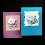 WFF503 Thank you Envelope - Washi Fancy Folds Greeting Card Kit - Makes Two (2) Cards