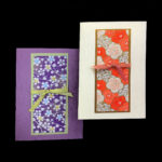 WFF504 Panel Autumn - Washi Fancy Folds Greeting Card Kit - Makes Two (2) Cards